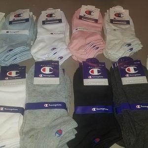 10 pairs of champion socks